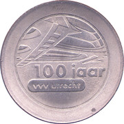 1 Dommetje - Jubileumactie 1992 (100yr VVV Utrecht) – obverse