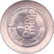 1 Dommetje - Jubileumactie 1992 (100yr VVV Utrecht) – reverse