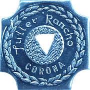 ½ Gallon Milk - Fuller Rancho (Corona, California) – obverse
