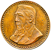 ¼ Penny - Gold Reef City – obverse