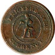 Civil War Token - Knickerbocker Currency – obverse