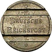 Fernsprechwertmarke der Deutschen Reichspost – obverse