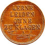 Token - Friedrich III – reverse