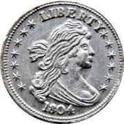 Token - Mini Coin (Draped Bust Dollar) – obverse