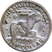 Token - Mini Coin (Eisenhower Dollar) – reverse