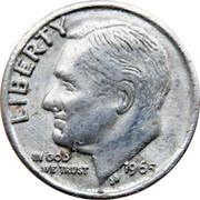 Token - Mini Coin (Roosevelt Dime) – obverse
