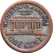 Token - Mini Coin (Lincoln Memorial Cent) – reverse