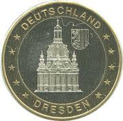 Token - Deutschland Einigkeit Recht Freiheit (Dresden) – obverse