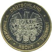 Token - Deutschland Einigkeit Recht Freiheit (Dresden) – reverse