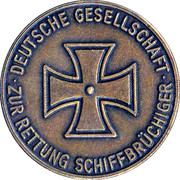 Token - DGzRS Seenotrettung (with full name) – obverse