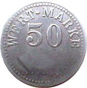 50 Pfennig (Wert-Marke) – obverse
