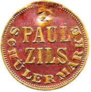 Token - Carousel Paul Zils – obverse