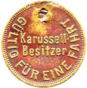 Token - Carousel Paul Zils – reverse