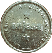 Game Token - Enjasa (Salta city) – obverse