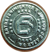 Game Token - Enjasa (Salta city) – reverse