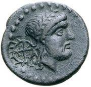 Bronze Æ22 (Countermarked) – obverse