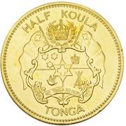½ Koula - Salote Tupou III – obverse
