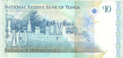 10 Pa'anga – reverse