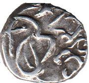 ⅛ Rupee - George V [Muhammad Sa'adat Ali Khan] – obverse