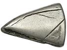 1 Shilling (Countermark type II) – reverse