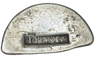 9 Pence (Countermark type I) – obverse