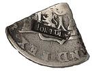 2 Shillings (Type I countermark) – obverse