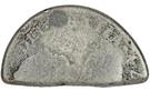 9 Pence (Countermark type II) – reverse