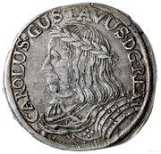 Ort - Karol X Gustaw (Swedish Occupation, Toruń mint) – obverse