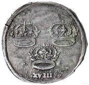Ort - Karol X Gustaw (Swedish Occupation, Toruń mint) – reverse