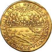 5 Dukatów - Toruń under siege (Toruń mint) – reverse