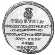 Dwutalar toruński - Toruń under siege (Toruń mint) – obverse