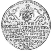 5 Dukatów - Toruń under siege (Toruń mint) – obverse