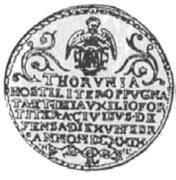 10 Dukatów - Toruń under siege (Toruń mint) – obverse