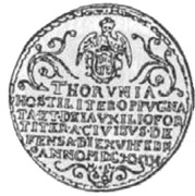 Talar toruński - brandtalar - Toruń under siege (Toruń mint) – obverse