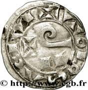 Denier (ou Raimondin), Comté de Toulouse, Raymond V, VI ou VII – reverse