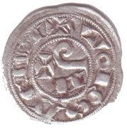 Obole, comté de Toulouse, Raymond V, VI ou VII (1150-1200) – reverse