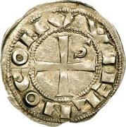 Denier de Guillaume IX, Comte de Toulouse (1086-1127) – obverse