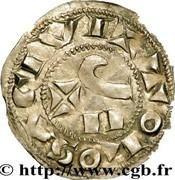 Denier de Guillaume IX, Comte de Toulouse (1086-1127) – reverse