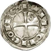 Denier (ou Raimondin), Comté de Toulouse, Raymond V, VI ou VII – obverse