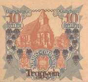 10 Heller (Tragwein) -  obverse