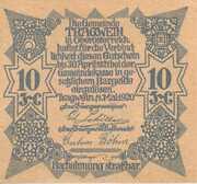 10 Heller (Tragwein) -  reverse