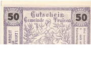 50 Heller (Traisen) – obverse
