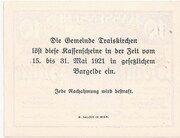 10 Heller (Traiskirchen) -  reverse
