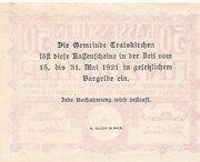 50 Heller (Traiskirchen) -  reverse