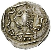 ½ Siliqua - In the name of Justinian I, 527-565 (Pannonia?) – obverse