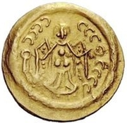 1 Tremissis - In the name of Justinian I, 527-565 (Pannonia) – reverse