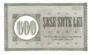 600 Lei – reverse