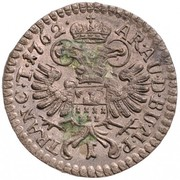 1 Krajczár - Mária Terézia (1740-1780) – reverse