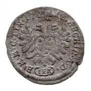1 Krajczár - III. Károly – reverse