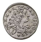 1 Krajczár - III. Károly – obverse